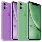 iPhone Xr 2 (2019): появились рендеры лавандового и зеленого цветов