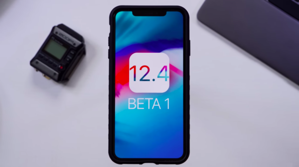 ios 12.4 beta 1