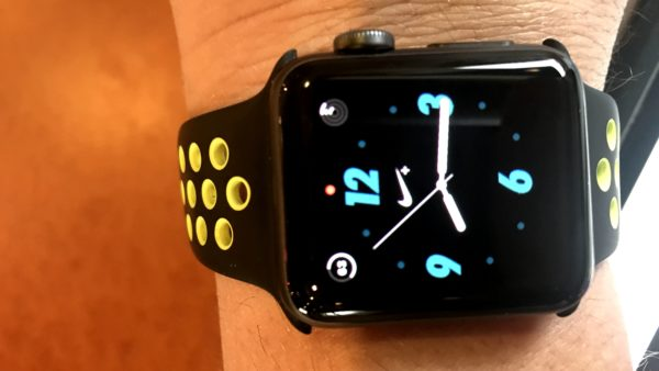 red dot on apple watch_