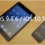Apple сделала релиз iOS 9.3.6 и iOS 10.3.4, чтобы устранить проблему с GPS