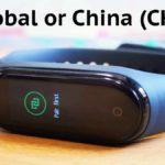 Mi Band 4: отличия китайской версии от глобальной