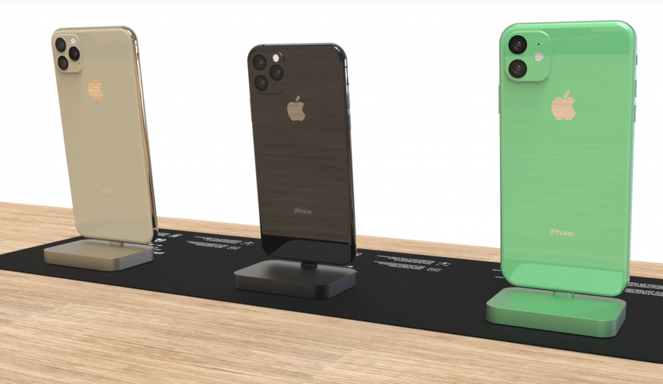 iPhone 11 Pro, iPhone 11 и iPhone 11r