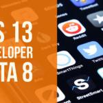 iOS 13 Beta 8: что нового, когда выйдет