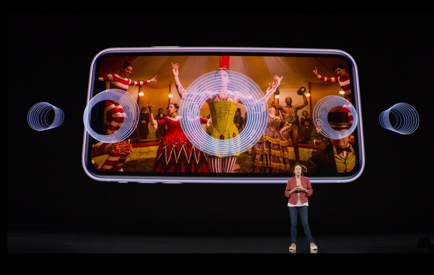 Dolby Atmos в iPhone 11