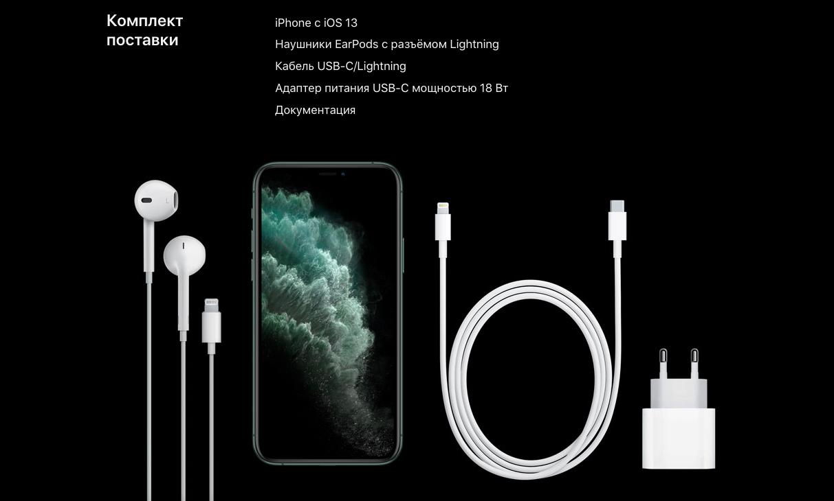 Комплект iPhone 11 Pro