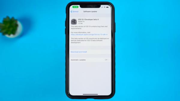 iOS 13.1 Beta 4