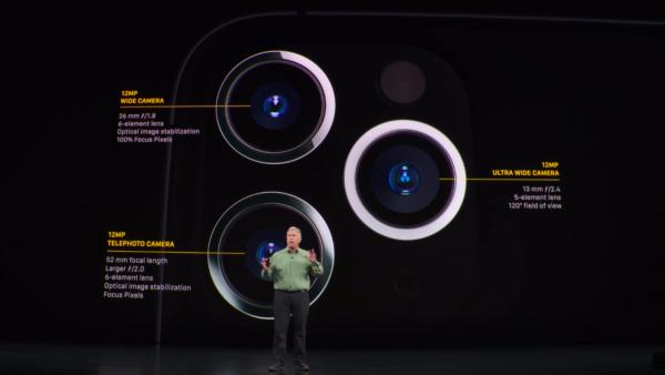 Тройная камера iPhone 11 Pro