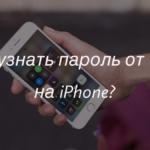 Как узнать пароль от Wi-Fi на Айфоне?