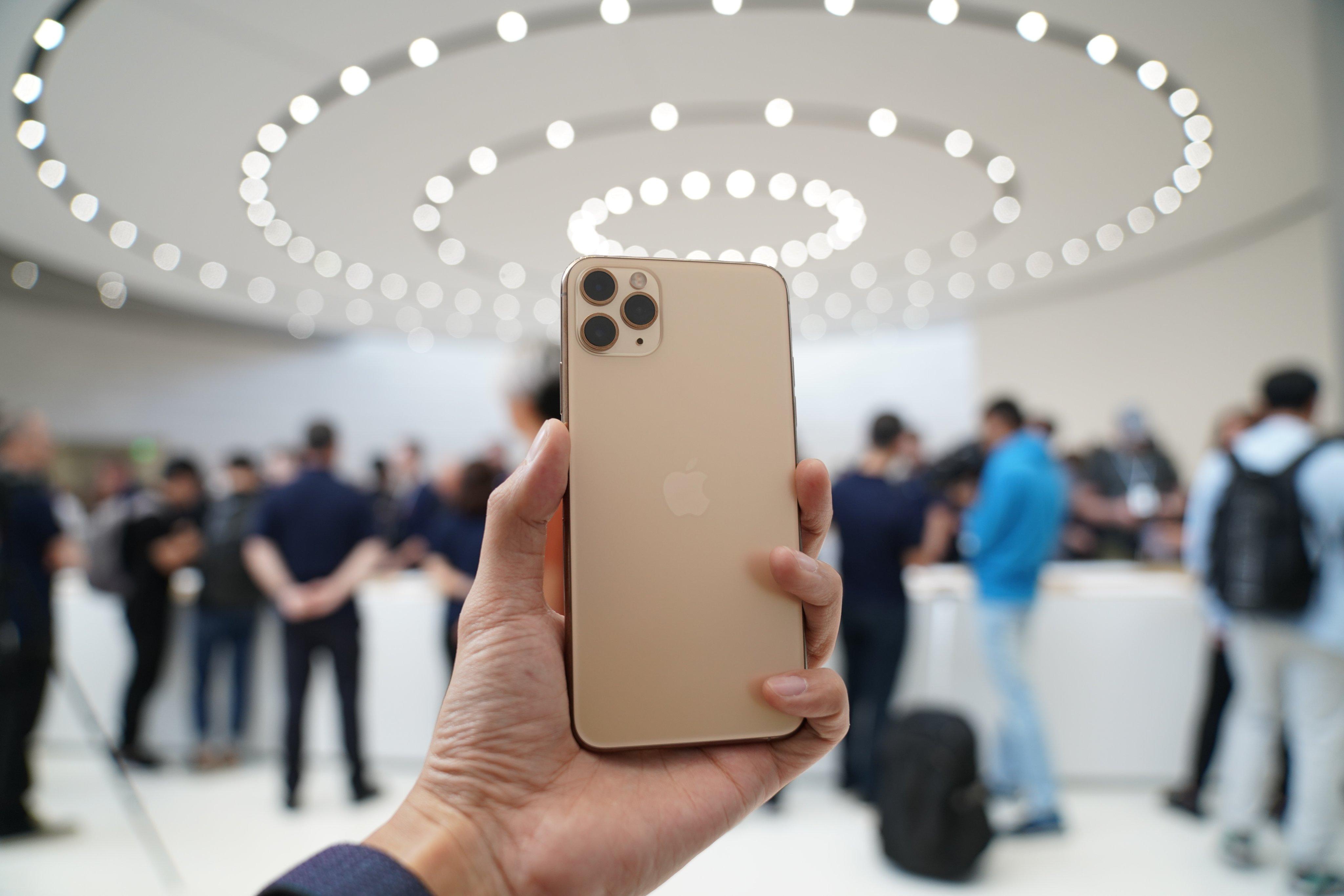 Золотой iPhone 11 Pro