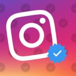 Что означает синяя галочка в Instagram?