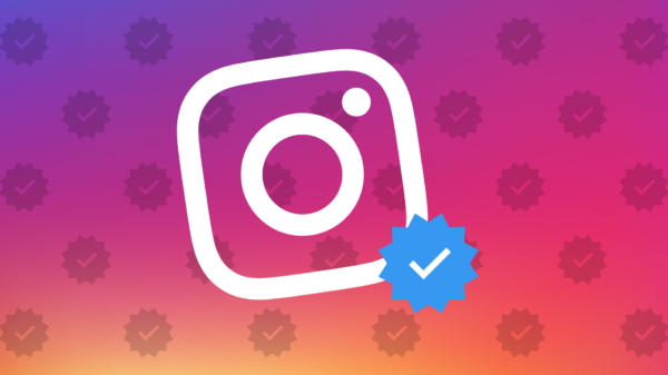 blue tick on instagram