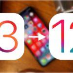 Как откатиться с iOS 13 beta на iOS 12.4 (12.3)?