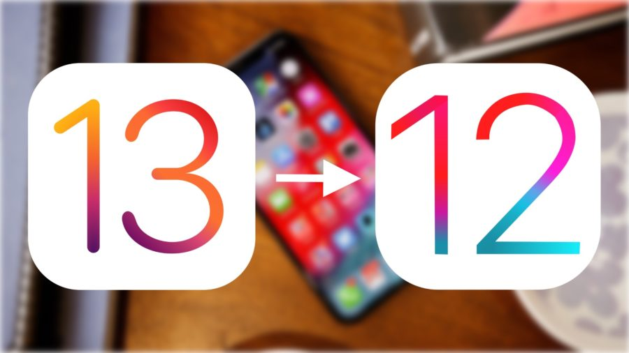 from ios 13 to ios 12
