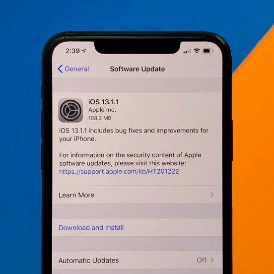 iOS 13.1.1