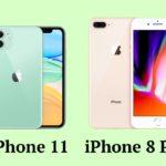 Сравнение iPhone 11 и iPhone 8 Plus
