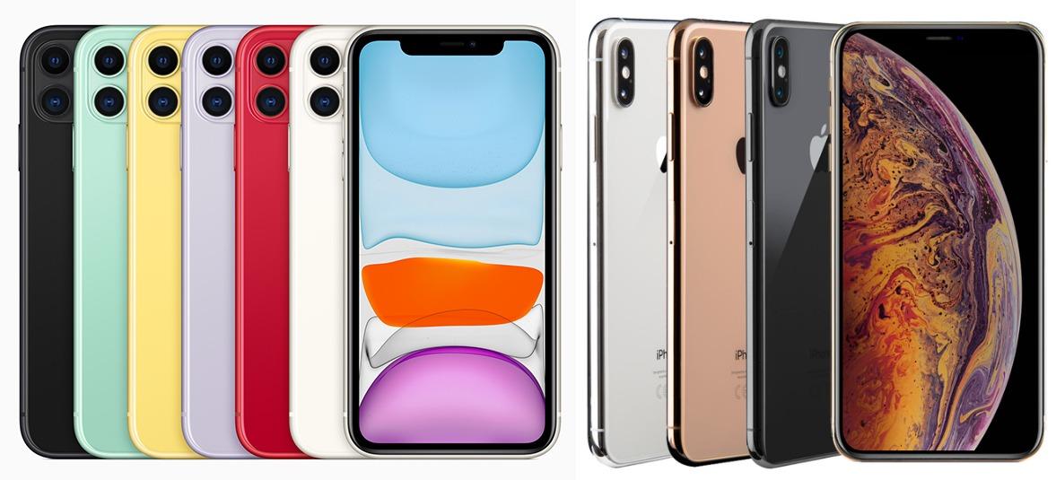 iPhone 11 и iPhone Xs Max