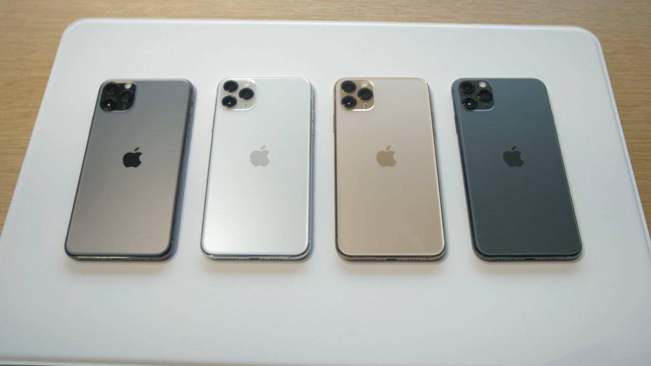 Все цвета iPhone 11 Pro