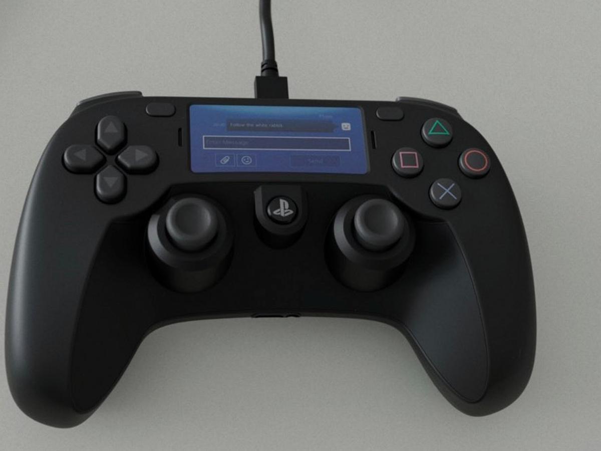 Утечка геймпада PlayStation 5