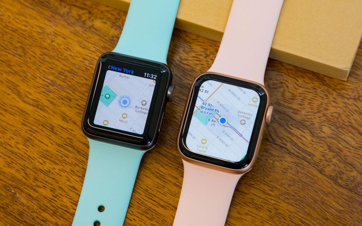 Apple Watch 3 и Apple Watch 5