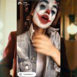 Как сделать маску Джокера в Инстаграм?
