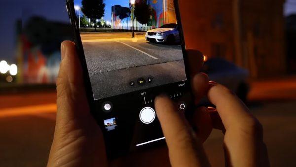 Night Mode on iPhone-11