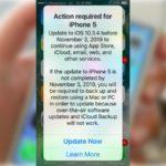 Всем владельцам iPhone 5 стоит обновиться до iOS 10.3.4