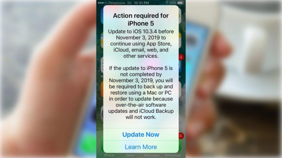 iPhone 5 Alert