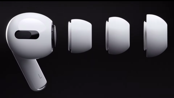 Скриншот из рекламы AirPods Pro