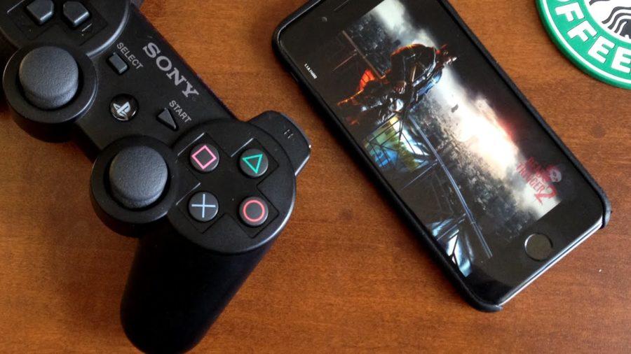 DualShock 3 и iPhone 7
