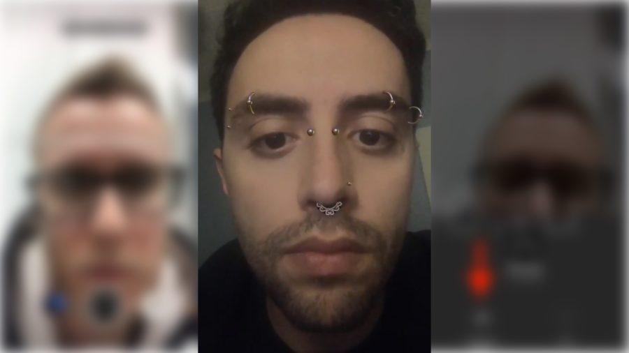 Piercing filter on Instagram