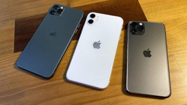 iPhone 11 Pro Max, iPhone 11, iPhone 11 Pro