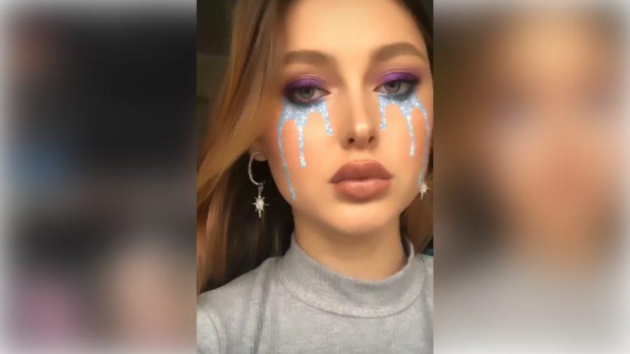 Tears Filter on Instagram