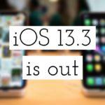 Состоялся релиз iOS 13.3: что нового, дата выхода