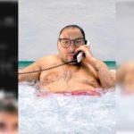 Маска мужик в ванной Инстаграм. Где найти?