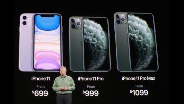 iPhone 11, iPhone 11 Pro и iPhone 11 Pro Max