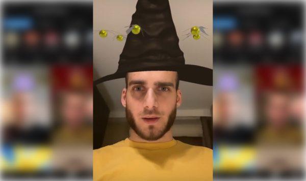 Hat Filter on Instagram