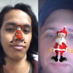 Маска Деда Мороза в Инстаграм. Где найти?