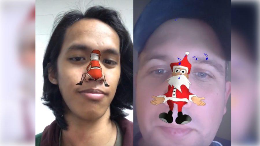 Santa Filter on Instagram