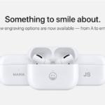 Apple добавила возможность гравировать AirPods и AirPods Pro