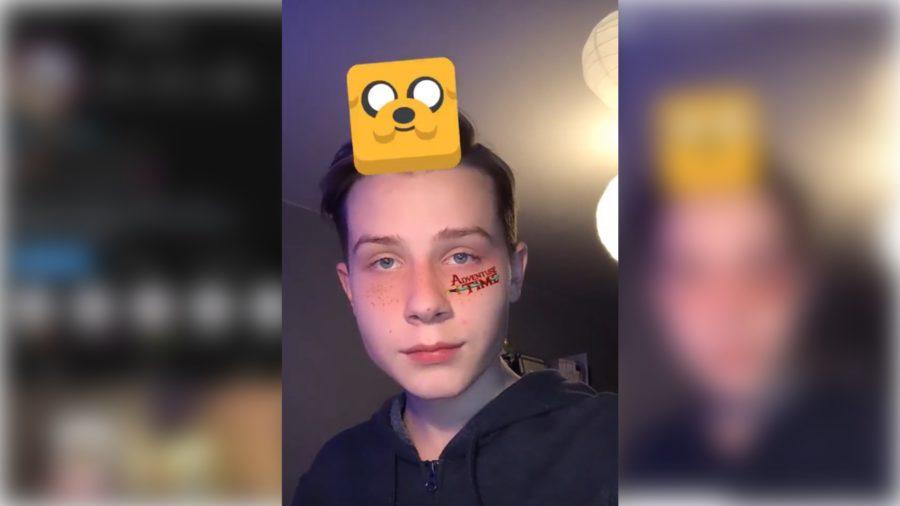 Adventure Time Filter On Instagram