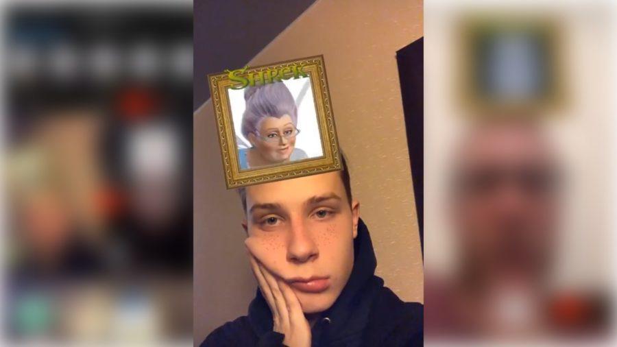 Shrek Filter On Instagram