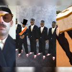 Маска с танцующими темнокожими гробовщиками в Инстаграм. Где найти?
