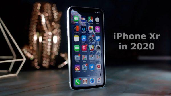 iPhone Xr in 2020