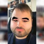Маска толстое лицо в Инстаграм. Как найти?