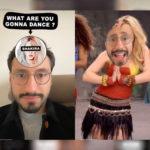 Маска «What are you gonna dance» в Инстаграм. Как найти?