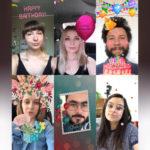 Маска «С днем рождения» в Инстаграм. Небольшая подборка