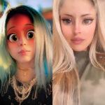 Приложение с диснеевскими глазами принцессы. Как называется?