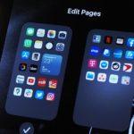 Как убрать рабочие столы iOS 14?