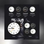 Виджет часы показывает неправильное время iOS 14