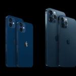 Сравнение размеров iPhone 12 в см